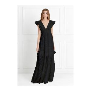 Rachel Zoe Violet Fil Coupe Gown